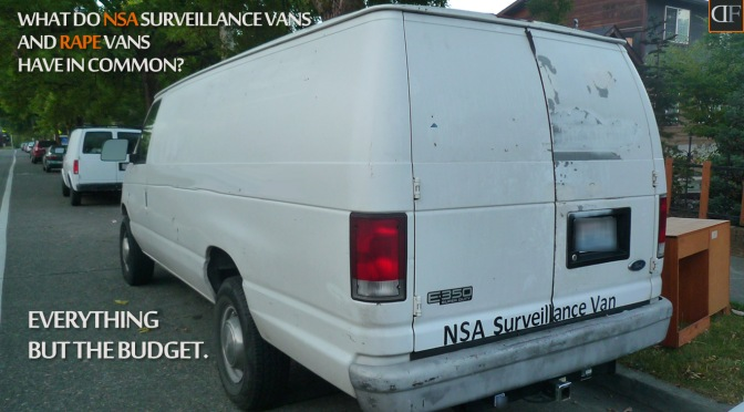 What do NSA Vans…